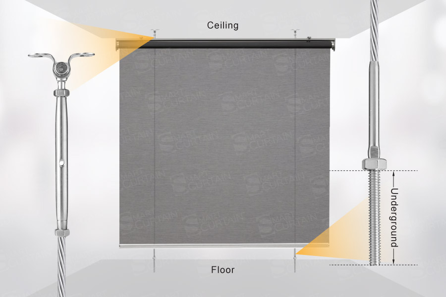 Smart-Curtain-Outdoor-Roller-Blind-Wire-Guided